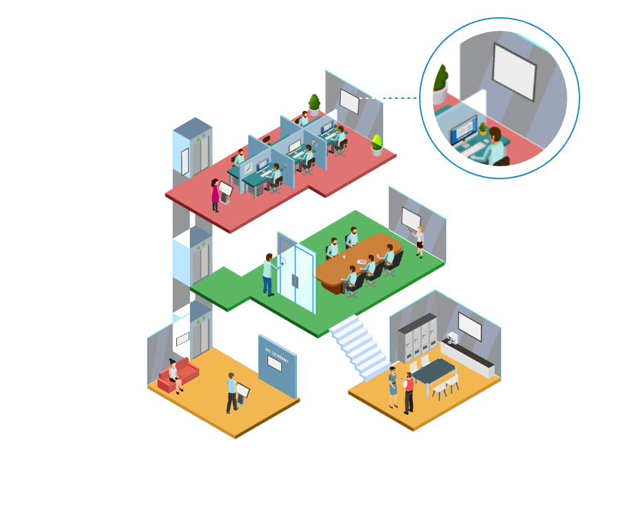 Media4Display Corporate & Smart Building