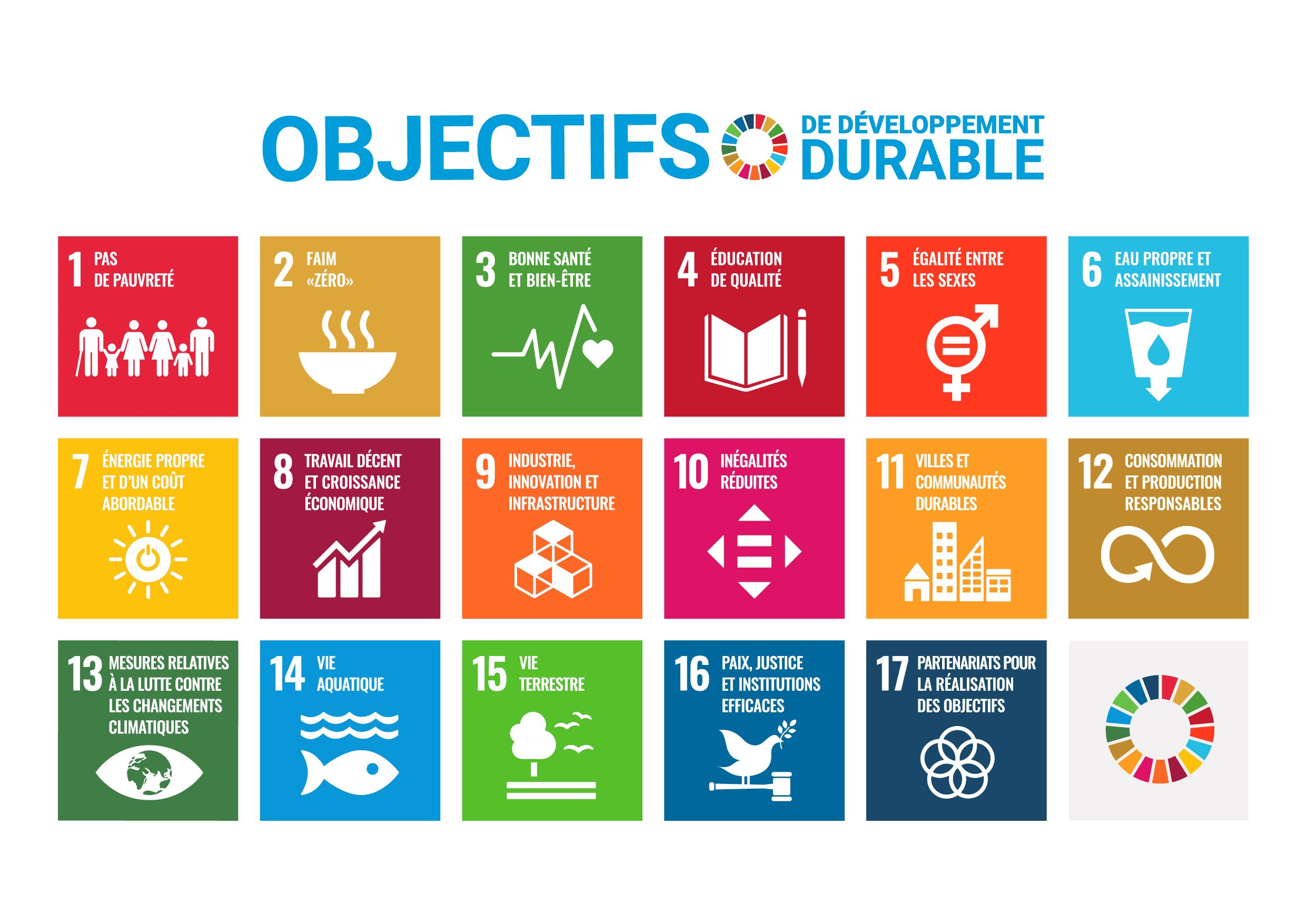 ONU sustainable development objectives