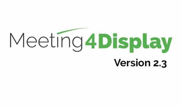 Meeting4Display v2.3