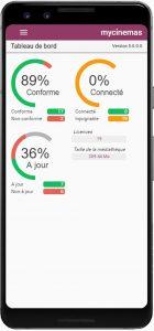 application mobile Media4Display