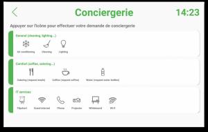 Conciergerie - Meeting4Display